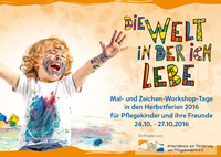 Flyer zum Mal-Workshop 2016
